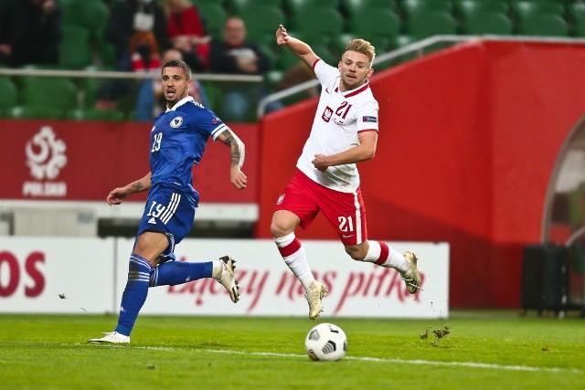 Kamil Jóźwiak gra dziś w Anglii