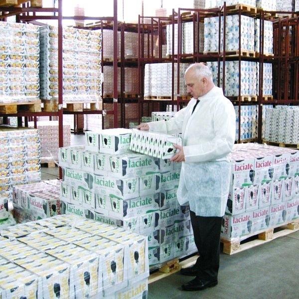 Grajewski Mlekpol jest największą polską spółdzielnią mleczarską, a jej najważniejszym produktem jest mleko UHT Łaciate. Na zdjęciu Edmund Borawski, prezes.