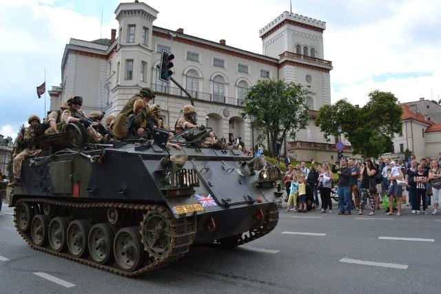 Jednym z elementów Operacji Południe jest widowiskowy przejazd pojazdów militarnych przez centrum Bielska-Białej