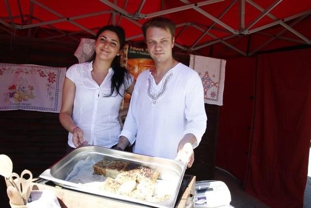 Jednym z laureatów mistrzostw w pieczeniu babki ziemniaczanej był Folwark Nadawki z Osowicz.
