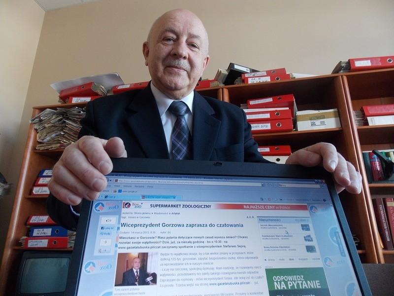 Stefan Sejwa jest prezydentem od 1 kwietnia zeszłego roku. Mieszka na Zawarciu. Zanim został zastępcą Tadeusza Jędrzejczaka, był radnym z klubu PO.