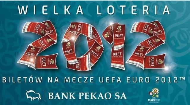 Bilety na EURO 2012. Oto plakat promujący akcję Pekao