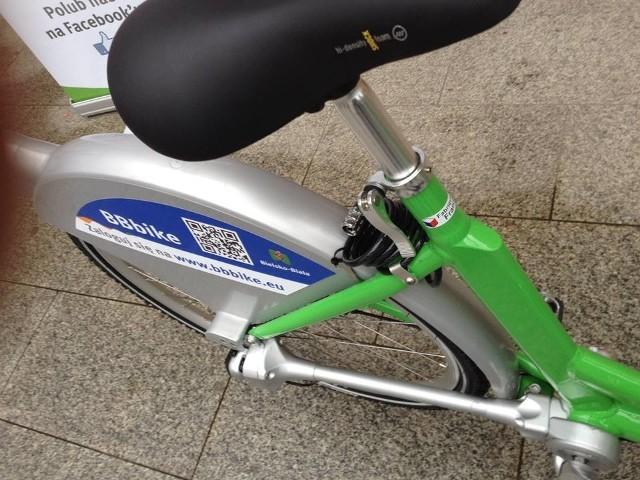 Tak wygląda rower bez łańcucha napędzany wałem. Dziesięć sztuk tych jednośladów będzie udostępnionych wraz ze stacją przy ulicy Cukrowej.
