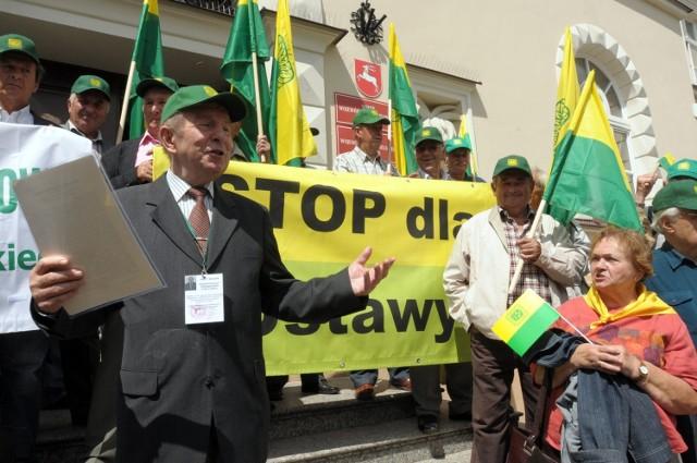 Lubelscy działkowcy nie chcą projektu ustawy posłów PO
