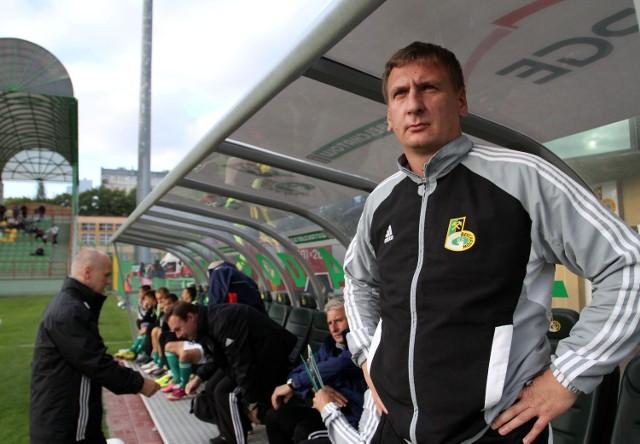Trener bełchatowian Kamil Kiereś chce wywieźć z Olsztyna trzy punkty