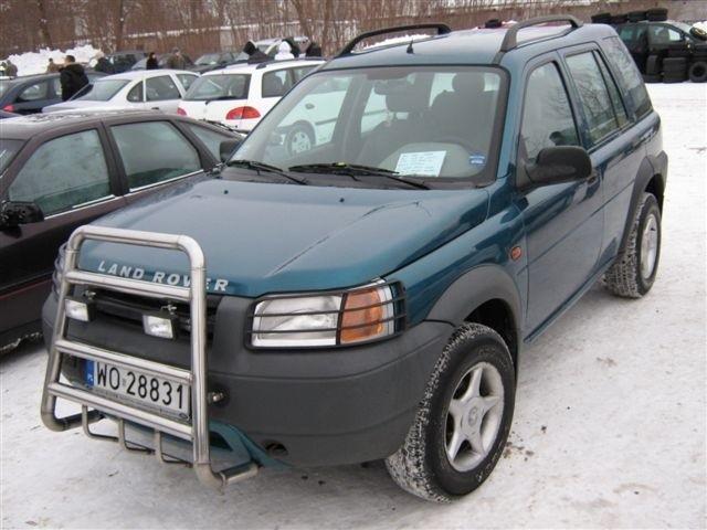 Land Rover Freelander, 1999 r., 2,0 TD, ABS, centralny zamek, elektryczne szyby i lusterka, immobiliser, 2x airbag, wspomaganie kierownicy, 22 tys. zl