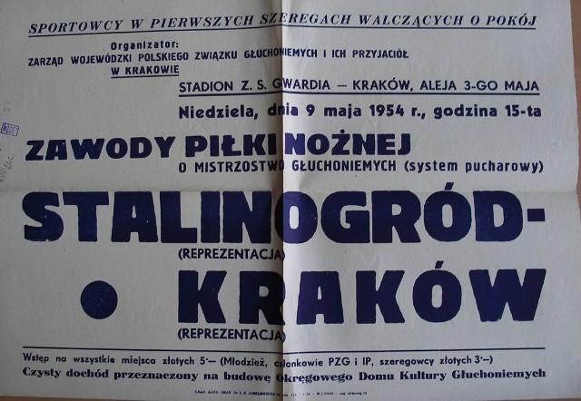 Katowice przemianowane na Stalinogród