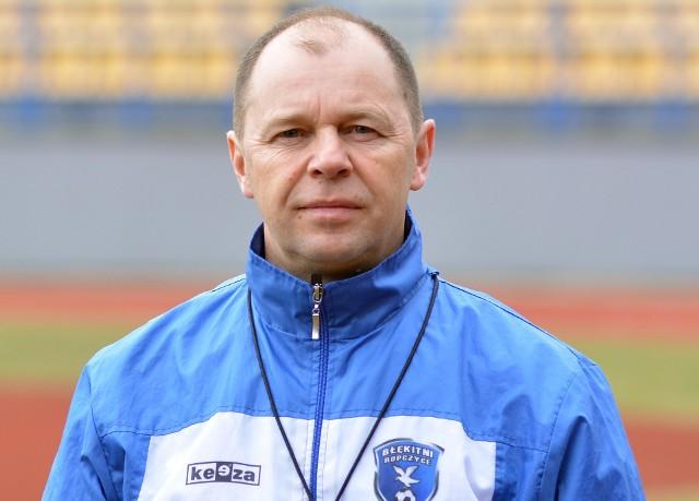 Andrzej Szymański już dwukrotnie był trenerem Błękitnych