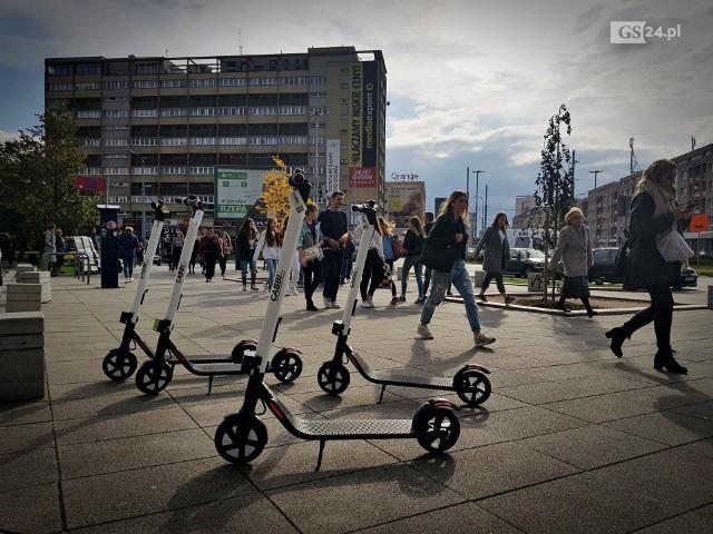Hulajnogi elektryczne w Szczecinie stwarzają zagrożenie?