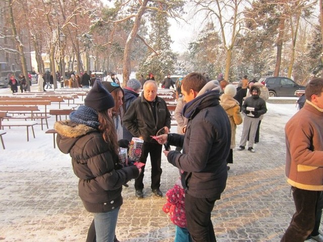 Ciechocińscy wolontariusze w akcji
