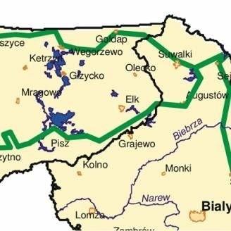 Proponowane warianty przebiegu trasy rowerowej