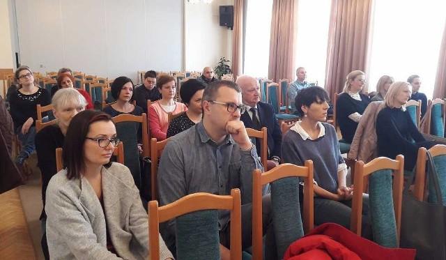 W Jarosławiu spotkali się farmaceuci z powiatów jarosławskiego i przeworskiego.