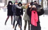 Zatańczyli One Bilion Rising w Zielonej Górze. To forma protestu przeciw przemocy wobec kobiet