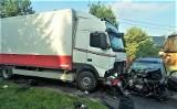 Nie żyje poszkodowany w wypadku w Graboszycach. To 41-letni obywatel Ukrainy. Do wypadku doszło na DK 28