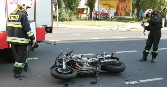 Brawurowa jazda motocyklistów często kończy się tragicznie.