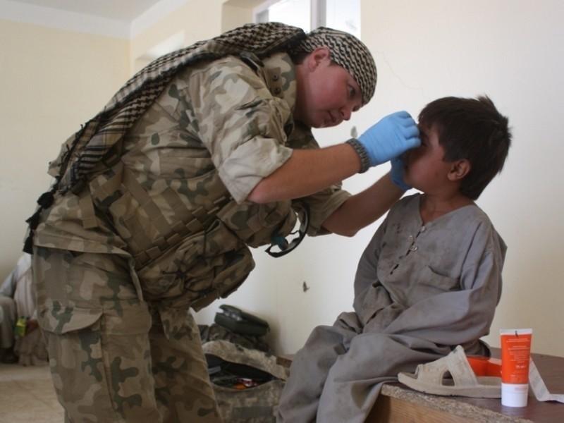 W trakcie szury nasi ratownicy medyczni pomagali dzieciom i dorosłym.