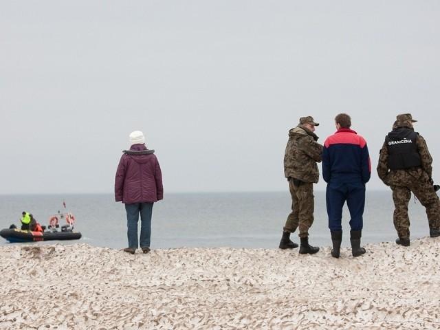 Poszukiwania rybaków z Rewala.