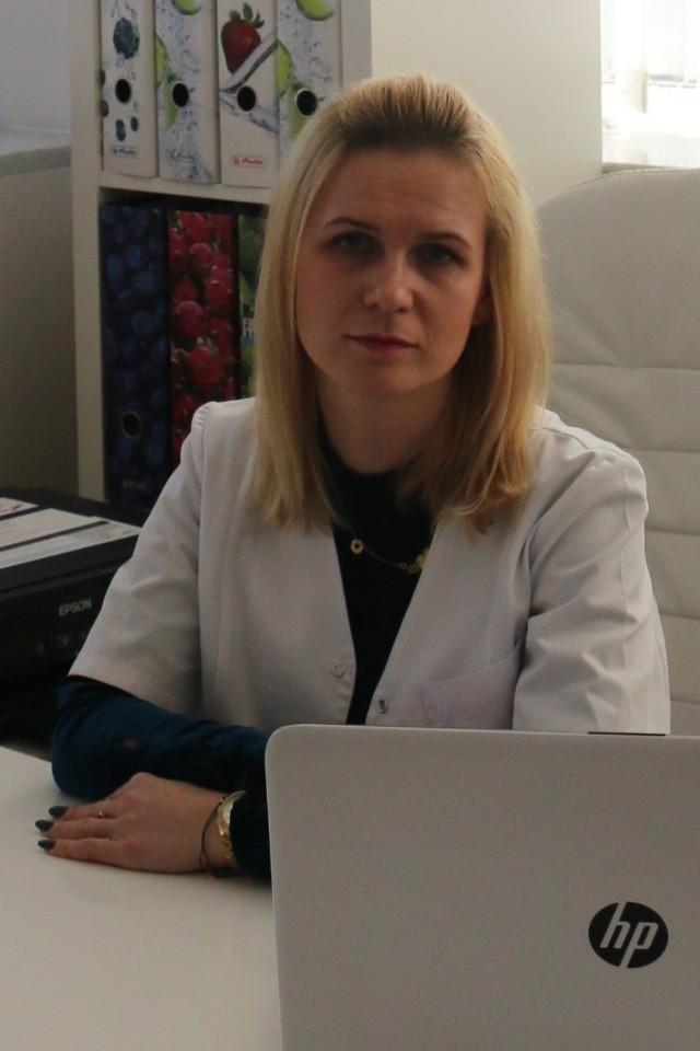 Magdalena Niewińska z białostockiego Centrum Psychodietetyki Vitella