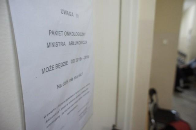 """Protest lekarzy rodzinnych. """"Pakietu Arłukowicza nie ma. Na dziś nie ma nic"""""""