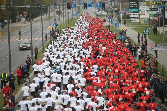 W rzeszowskim biegu wystartowało 2200 osób.