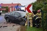 Zderzenie ciężarówki i samochodu osobowego w Wołczy Małej (ZDJĘCIA)