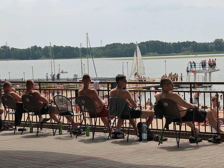 Kąpielisko strzeżone przy plaży miejskiej w Rudniku ma...