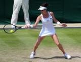 WTA Wuhan. Radwańska wygrała z upałem i Görges, 500. zwycięstwo Polki w karierze