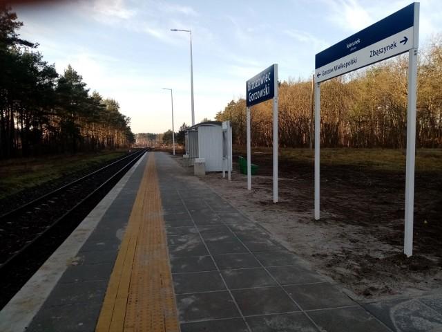 Przystanki przy linii Gorzów - Zbąszynek modernizuje PKP Polskie Linie Kolejowe.