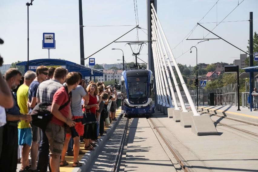 Otwarcie estakady Lipska - Wielicka.
