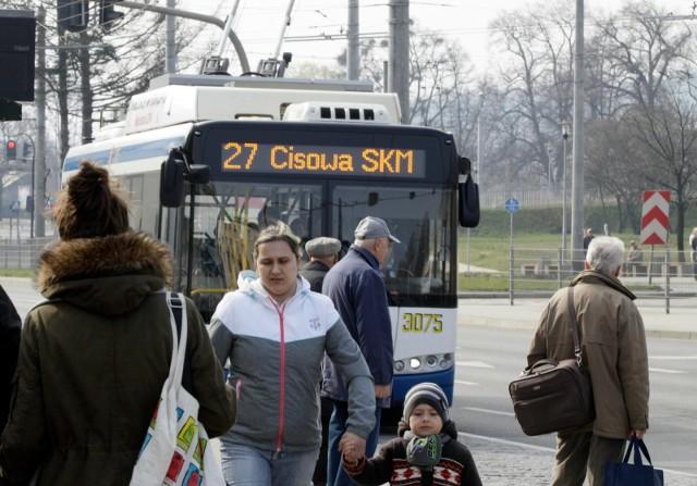 Gdynia promuje razem z Tychami nowoczesne trolejbusy.