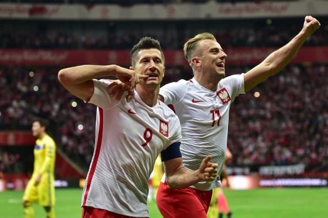 Robert Lewandowski i Kamil Grosicki w ligowej kolejce poprzedzającej zgrupowanie reprezentacji Polski strzelili gole dla swoich klubów.