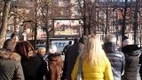 Gorzowianie wspólnie żegnają Pawła Adamowicza. Na transmisję pogrzebu przyszły dziesiątki ludzi [GALERIA]