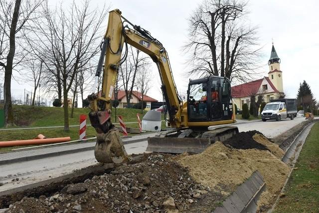 Fundusz Spójności: budowa kanalizacji w Sygneczowie. Trwające inwestycje nie są zagrożone, ale mogą potrwać dłużej