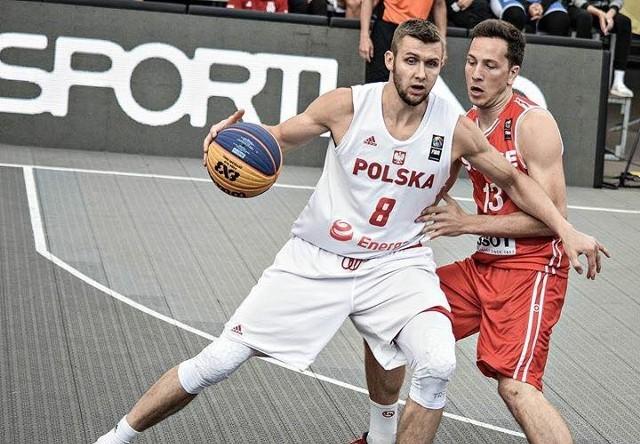 Koszykarz Stelmetu Przemysław Zamojski jest reprezentantem Polski w kadrze 3x3.
