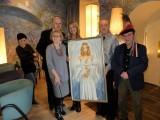Ewa Wachowicz była muzą dla malarzy na plenerze w Grecji