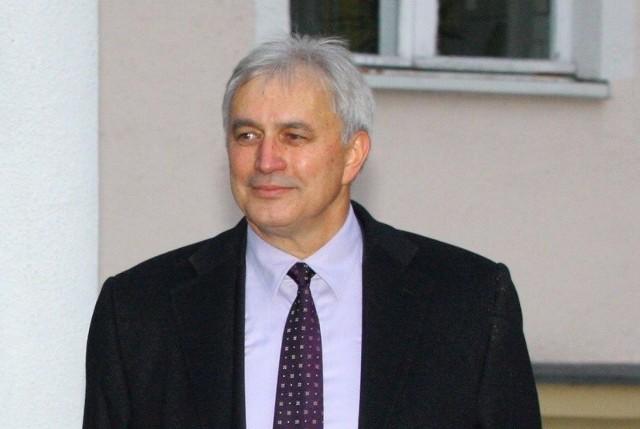 Andrzej Sałacki, prezes Klubu Jeździeckiego Lewada Zakrzów.