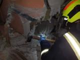 Mężczyzna utknął w toalecie. Po dwóch dniach uratowali go strażacy z Rogoźna