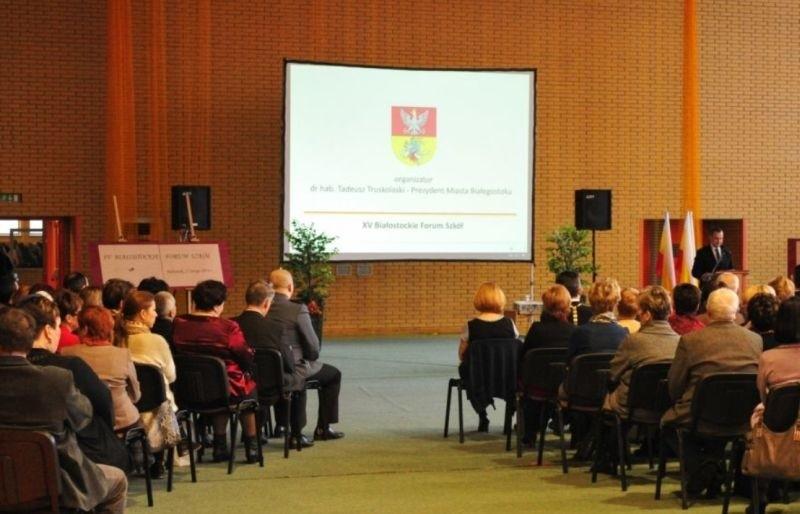 Poprzednie Białostockie Forum Szkół odbyło się w Zespole Szkół  Budowlano-Geodezyjnych w Białymstoku