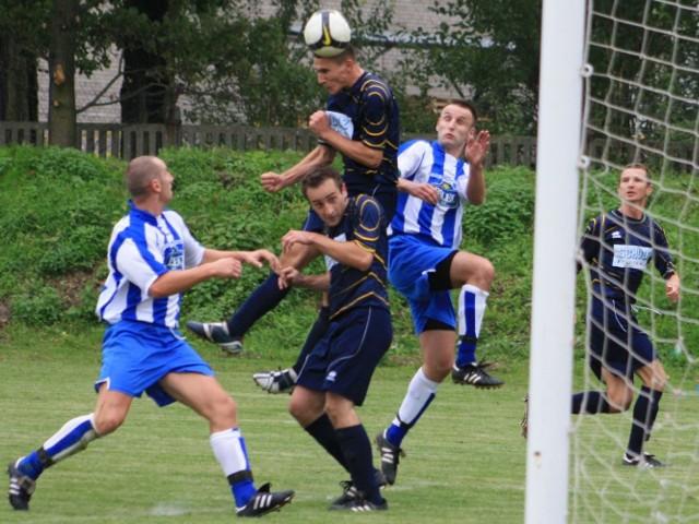 VI liga, wrzesień 2010: Wiślanie Jaśkowice - Nadwiślanka Nowe Brzesko