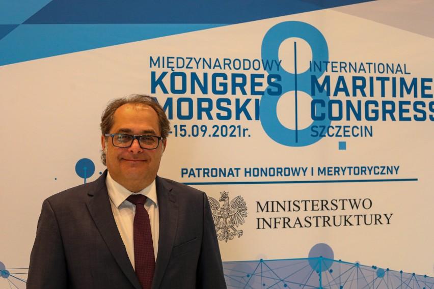 Trwa 8 Kongres Morski w Szczecinie. Obecni są...