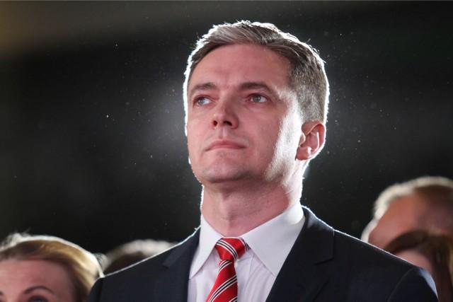 Adam Jarubas, marszałek województwa.