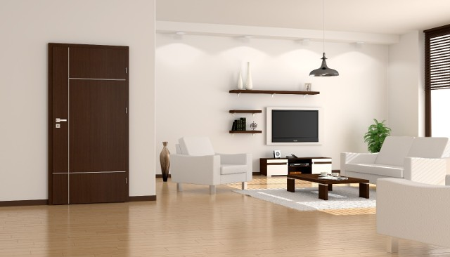 O drzwi wewnętrzne warto zadbać na co dzień - zapewni to ich estetyczny wygląd i wygodę użytkowania.