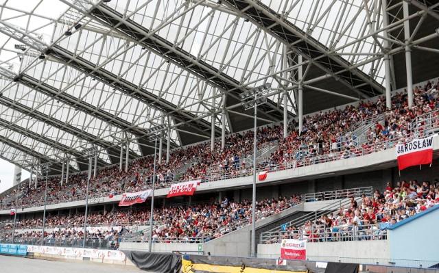 Stadion Miejski w Rzeszowie.