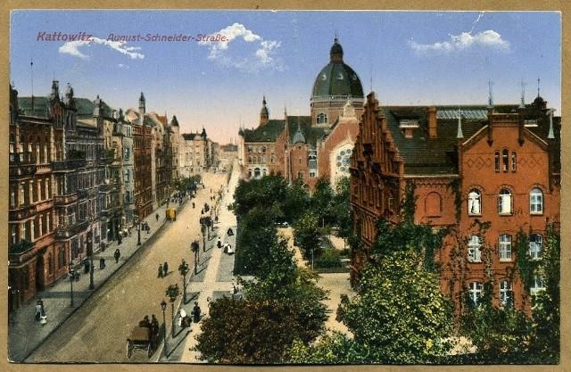Wielka Synagoga na starych pocztówkach