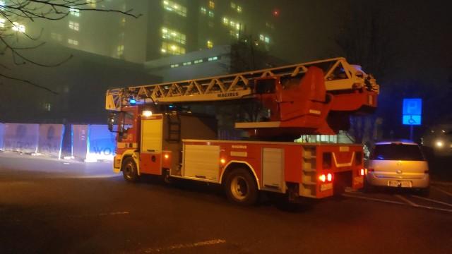 Straż Pożarna została wezwana do gaszenia pożaru na dachu szpitala im. Rydygiera.