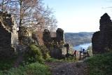 Ruiny zamku na Górze Sobień. To tutaj przebywał król Władysław Jagiełło [ZDJĘCIA]