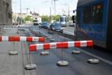 Wrocław: Zamknęli część Podwala. Będą spore korki aż do połowy lipca (ZDJĘCIA)