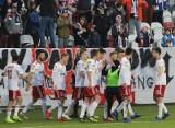 Piłkarska pierwsza liga. Wspaniała seria piłkarskiej drużyny  ŁKS