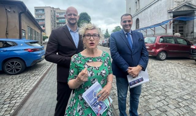 Gorzowscy radni Prawa i Sprawiedliwości promują założenia Polskiego Ładu.