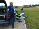 Oświęcim. Nowoczesny bezzałogowy samolot wykorzystano w poszukiwaniach zaginionego Marcina Zasadni